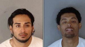 Bryan Anguiano (left) and Kevin Hidalgo (right) are shown in photos released by the Riverside Police Department on Oct. 31, 2019)