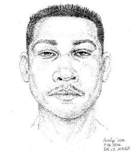 A July 2012 composite sketch released by the Santa Ana Police Department shows the suspect in the rape of a 6-year-old girl.