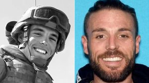 Adrian Bonar is seen in undated photos released by the Anaheim Police Department.