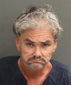Brian Sherman is seen in a Nov. 2, 2019, booking photo released by the Orange County Sheriff's Office in Florida.