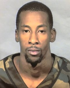 Jeffrey Taylor-Thompson, 28, of Highland is seen in a photo provided by the San Bernardino County Sheriff's Department.
