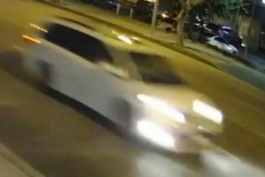 One of two cars being sought as witnesses to a hit-and-run that left a 14-year-old boy dead in Monterey Park on Nov. 18, 2019, is pictured in a photo released by the Monterey Park Police Department on Nov. 20, 2019.