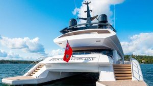 This Porshe-designed superyacht is on the market nearly a decade after it was first commissioned.