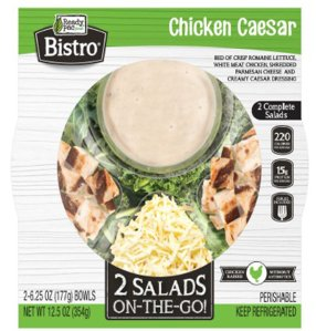 The CDC released a photo of the packaging of the salad that is being investigated as a possible source of the outbreak.