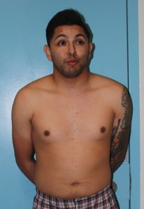 Antonio Silva is seen in a booking photo released Nov. 20, 2019, by the Anaheim Police Department.