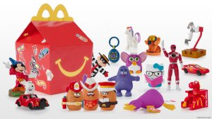 Some of the Happy Meal toys McDonald's is bringing back for a limited time. (Credit: McDonald's)