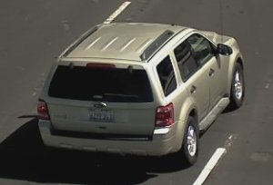 Authorities are seeking this gold, 2012 Ford Escape SUV with California license plate 6ZPF343 in connection with an Amber Alert issued by the California Highway Patrol on Dec. 27, 2019.