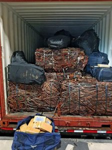 $31M Cocaine Bust in Savannah, Georgia found in a shipping container on Nov. 5, 2019.