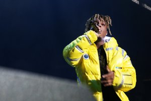 Rapper Juice Wrld performs at Power 105.1's Powerhouse 2018 at Prudential Center on Oct. 28, 2018, in Newark, New Jersey. (Credit: Bennett Raglin/Getty Images for Power 105.1)