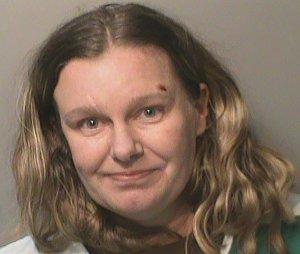 Nicole Poole Franklin mug shot. (Credit: Clive Police Department)