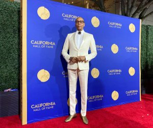 RuPaul attends the California Hall of Fame ceremony in Sacramento on Dec. 11, 2019. (Credit: Office of the Governor of California)