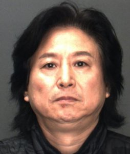 Shuquan Yang is seen in an image provided by the San Bernardino County Sheriff's Department.