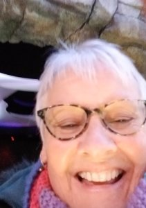 Susan Griego accidentally took a video of herself instead of her daughter's proposal. (Credit: Susan Griego via CNN Wire)
