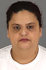 Yoko Issac is seen in a booking photo released Dec. 19, 2019, by the Riverside County Sheriff's Department.