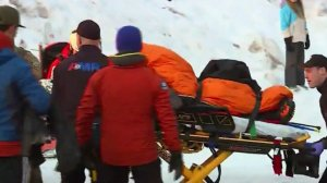A teen climber was transported after falling 500 feet on Oregon's Mount Hood on Dec. 30, 2019. (Credit: KOIN)