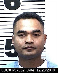Tith Ton appears in a booking photo released by the California Department of Corrections and Rehabilitation on Dec. 23, 2019.