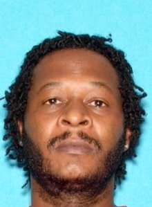 Sethtaniel Tyrece Davis, 38, is seen in a photo provided by the San Bernardino County Sheriff's Department on Dec. 9, 2019.