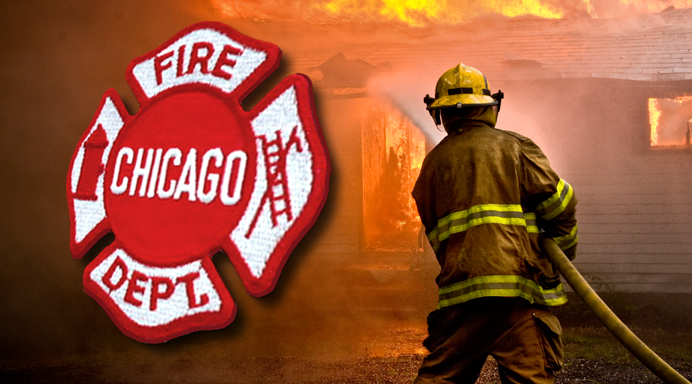 Chicago Fire Department House Fire