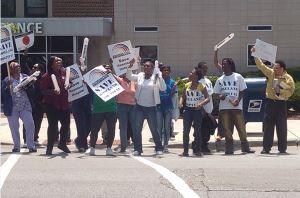 roselandhospitalprotesters