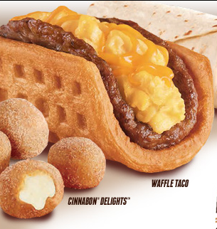 Photo from Taco Bell website