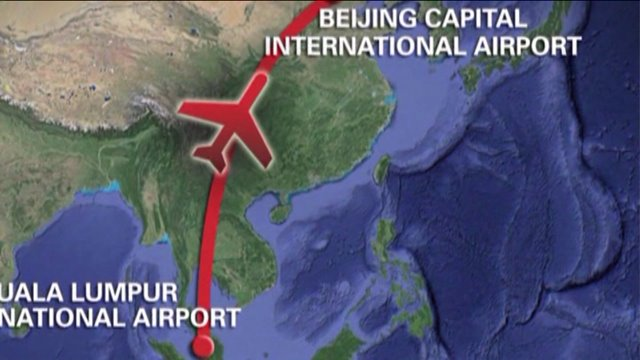Few Clues in Missing Malaysian Airliner