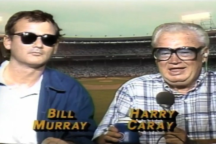 Bill Murray Harry Caray