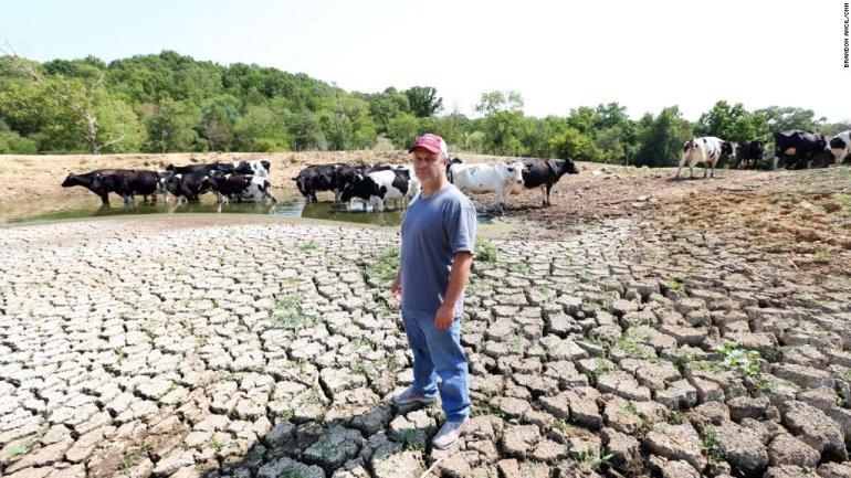Missouri Farmers Drought - Stacey McCallister