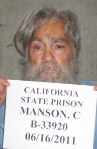 The California Department of Corrections and Rehabilitation released photos of infamous inmate Charles Manson today upon CNN's request. The photos were taken at the state prison in Corcoran, California, on June 16, 2011, because prison officials determined that Manson, with long gray hair, looked different from his last photos taken in March of 2009, when he had a shaved head.
