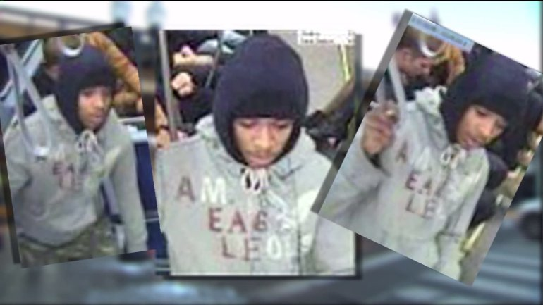 Photos of suspect in CTA phone thefts