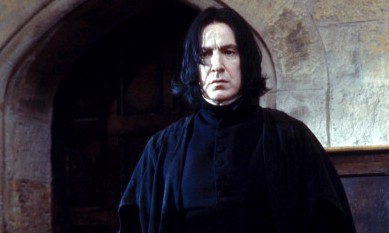 "Alan Rickman as Severus Snape in ""Harry Potter and the Sorcerer's Stone."" (Getty Images.)"