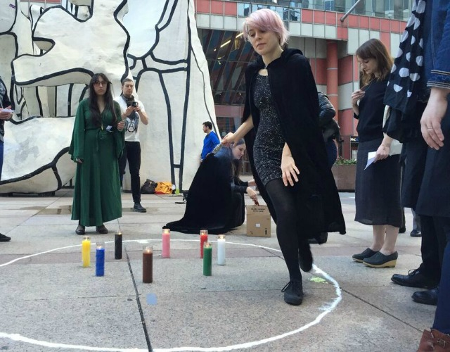 A previous WITCH performance at the Thompson Center, via WITCH