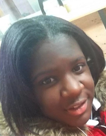 Brianna Williams, 14, went missing from the city's West Side on Tuesday.