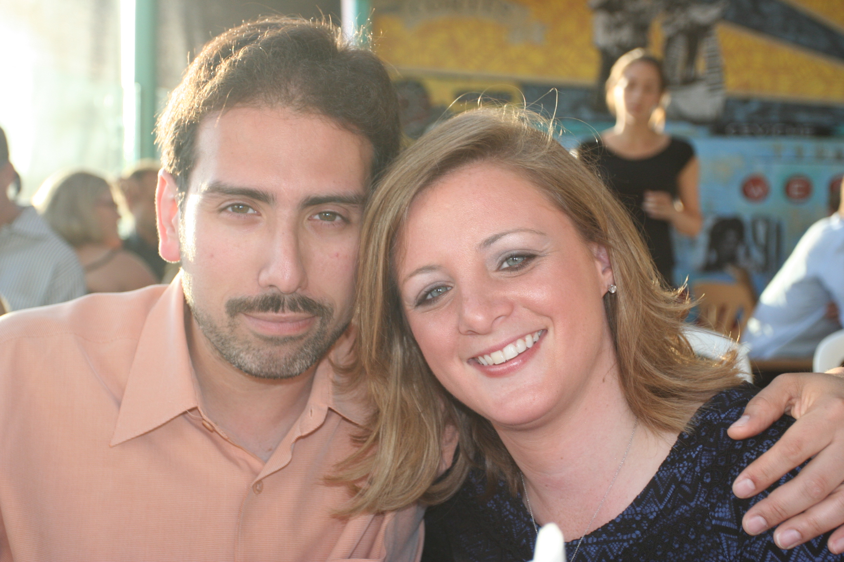 Randi Belisomo and her late husband Carlos, who died in 2010 from colon cancer.