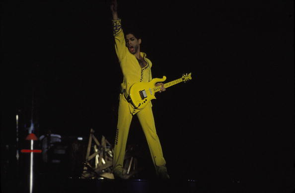 FIle photo: Prince performs at the Open Air SCG Show in Sydney, Australia. (Photo by Patrick Riviere/Getty Images)