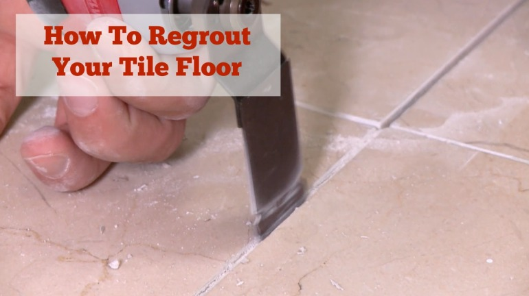 regrout tile floor