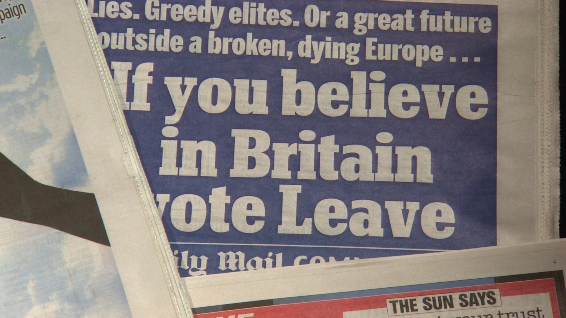 Britain's most popular newspapers are urging U.K. readers to vote to leave the European Union in Thursday's historic referendum.