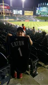 Tommy With Eaton Jersey