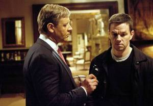 """Russell Crow and Mark Wahlberg star in the movie """"Broken City."""""""