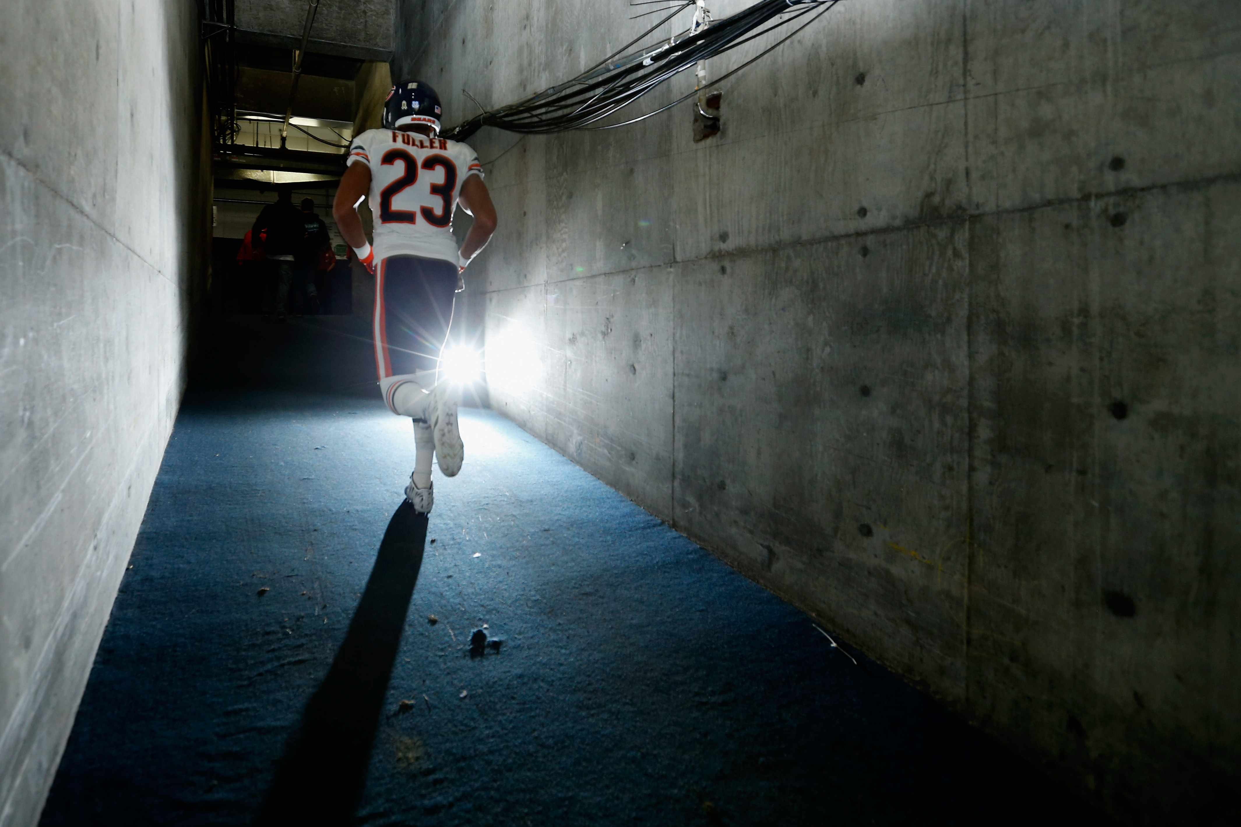 Bears cornerback Kyle Fuller.  (Photo by Sean M. Haffey/Getty Images)