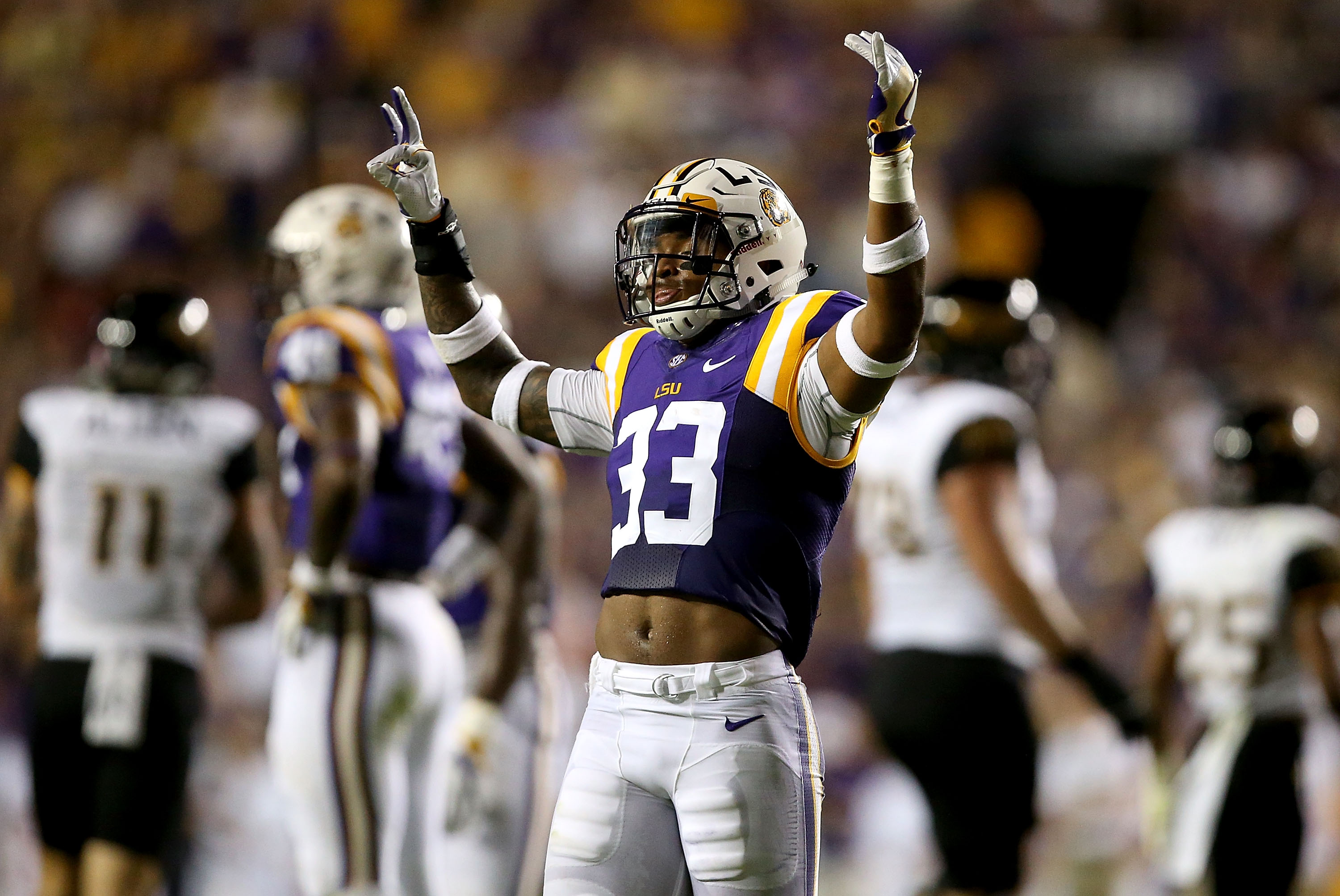 LSU safety Jamal Adams.(Photo by Sean Gardner/Getty Images)