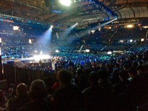 Huge crowd at Allstate Arena for WE Day Illinois
