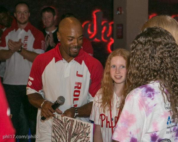 Jimmy Rollins BaseBOWL 2012