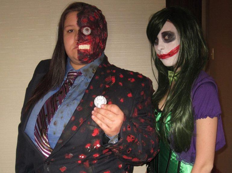 Two Face & Joker enjoying Monster-Mania