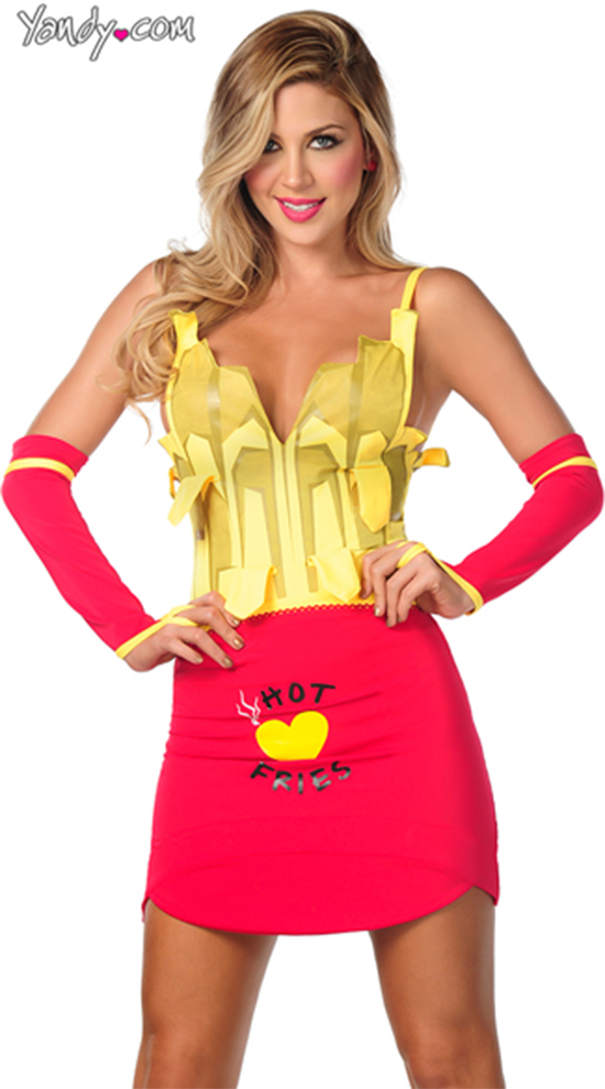 Sexy French Fries Halloween Costume