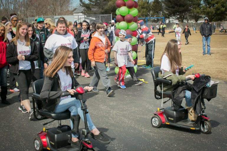 (10) Walk-a-thon benefits twins battling Facioscapulohumeral Muscular Dystrophy