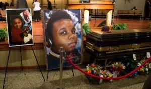 michael brown funeral
