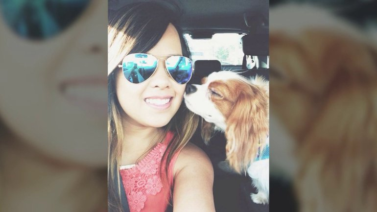 Ebola-stricken Nina Pham & her dog Bentley