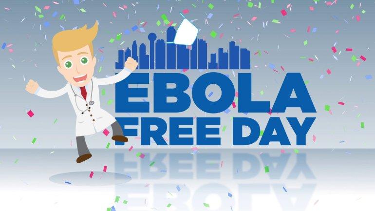 ebola free day