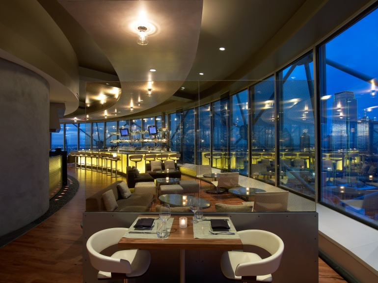 Five Sixty Dallas Table With View