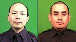 Officers Wenjian Liu and Rafael Ramos
